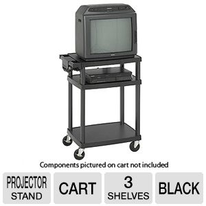 Safco 8929BL Multimedia Projector Cart