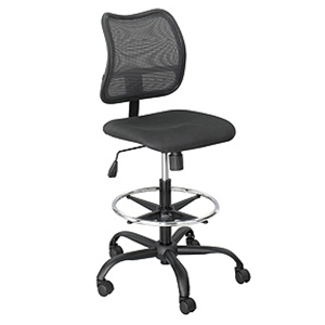 Safco 3395BL Vue Extended-Height Mesh Chair