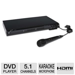 SuperSonic SC-31 DVD Player with Karaoke Mic
