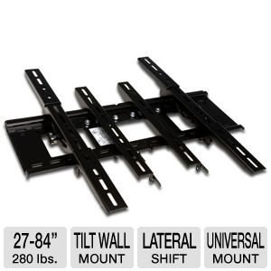 "Sanus VMPL3b Extra Large Tilt Mount for 27-84"" TVs"