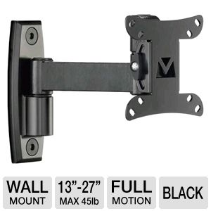 Sanus SF208-B1 Full Motion Wall Mount