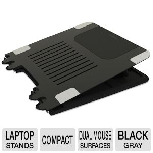 Targus LapDesk Black & Gray Compact Laptop Tray