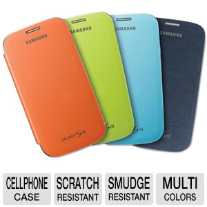 Samsung GSIII 4 Pack Flip Covers REFURB