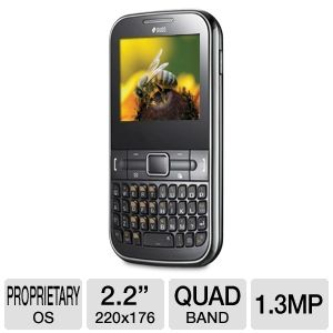 Samsung Chat GT-C3222 Unlocked GSM Cell Pho REFURB