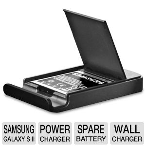 Samsung Spare Battery and Charging System