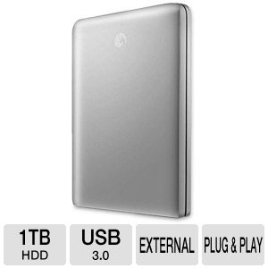 Seagate FreeAgent GoFlex 1TB Portable HD Kit