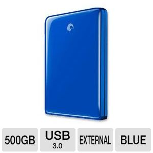 Seagate 500GB USB 3.0 FreeAgent GoFlex Hard Drive