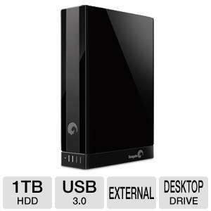 Seagate Backup Plus 1TB Desktop Drive