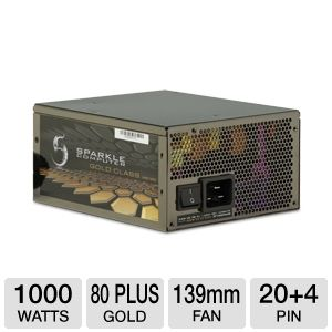 Sparkle GW-EPS1000DA 1000W Modular Power Supply