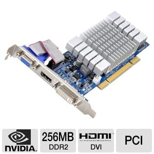 Sparkle GeForce 8400 GS 256MB DDR2 PCI Low Profile