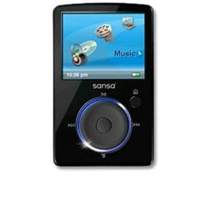 SanDisk Sansa Fuze MP4 Player