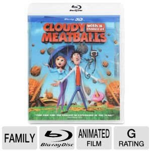 Cloudy with a Chance of Meatballs Blu-ray Movie