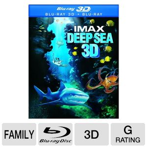 IMAX Deep Sea 3D Blu-ray Movie