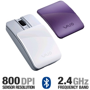 Sony VAIO VGP-BMS15/WI Bluetooth Slider Mouse