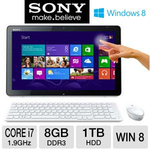 "Sony VAIO 20"" Core i7 1TB HDD All-In-One PC"