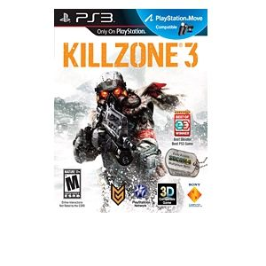 Sony Killzone 3 FPS Video Game for PlayStation 3