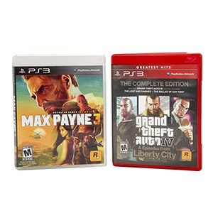 Playstation 3 GTA IV / Max Payne 2-Pack Game