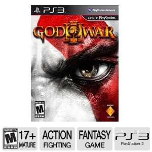 Sony God Of War 3 Action Video Game for PS3