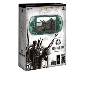 Sony PSP Metal Gear Solid: Peace Walker Pack