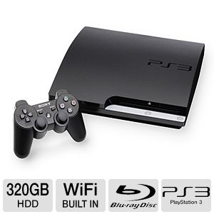 Sony Playstation 3 PS3 320GB Console Refurb