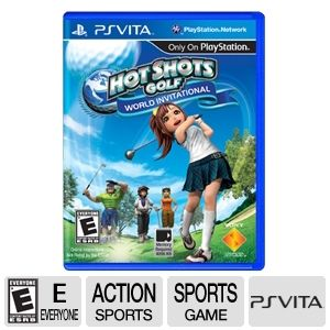 Sony Hotshots Golf World Invitational Video Game
