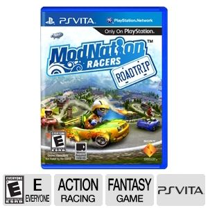 Sony Modnation Racers: Road Trip Racing Video Game