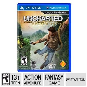 Sony Uncharted: Golden Abyss Adventure Video Game