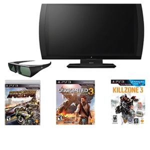 PS3 3D Gaming Display Bundle