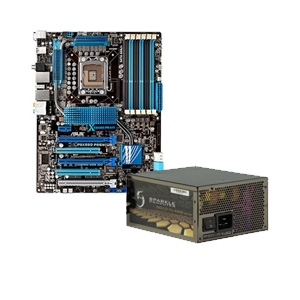 ASUS P6X58D Premium Motherboard and Sparkle GW-EPS