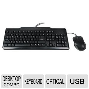 OEM 104-Key Black USB Standard Keyboard Bundle