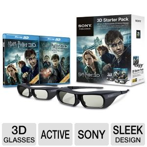 Sony 3DBNDL/HPOTER Harry Potter 3D Starter Pack