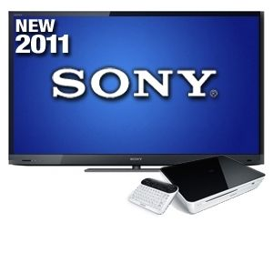 "Sony Bravia 55"" Edge LED Backlit 3D HDTV Bundle"