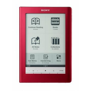 Sony PRS-600RC Touch Edition E-Book Reader REFURB