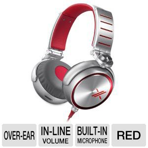 Sony X Headphones 3Hz-29kHz Over Ear Red