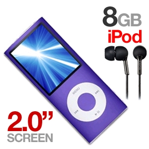 Apple iPod Nano & Sony Headphones