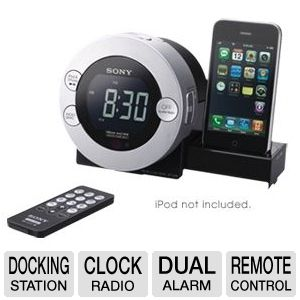 Sony ICF-C7IP iPod/iPhone Clock Radio System