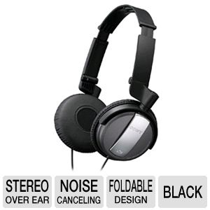 Sony MDR-NC7/BLK Noise Canceling Headphones
