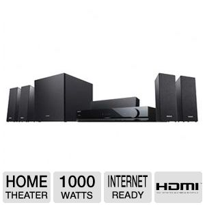 Sony 3D Surround Sound Home Theater System Bundle