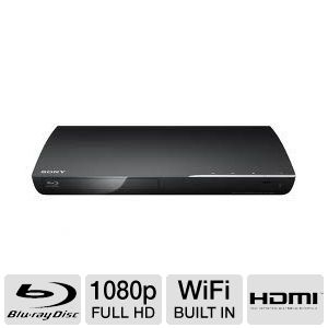 Sony 1080p WiFi Blu-ray Disc Player