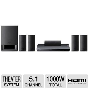 Sony BDV-E390 3D Blu-ray Home Theater Syste REFURB