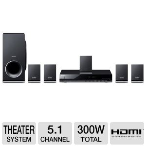 Sony DAV-TZ140 DVD Home Theater System  REFURB