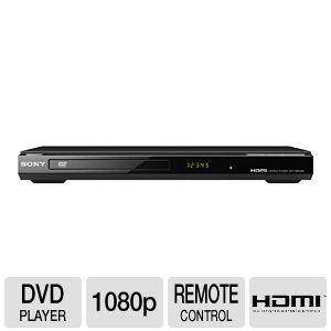 Sony DVPSR500H DVD Player