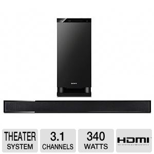 Sony HTCT150 Sound Bar Home Theater System