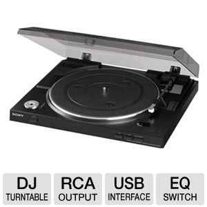 Sony PSLX300USB Automatic USB Stereo Turntable