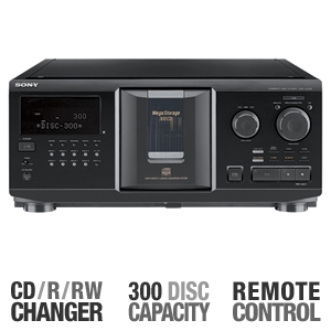 Sony CDP-CX355 CD Megastorage Disc Changer REFURB