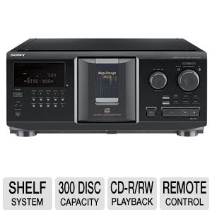 Sony CDP-CX355 CD Megastorage Disc Changer