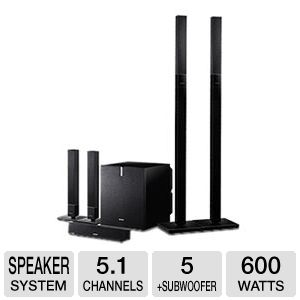 Sony 5.1 28Hz-70kHz 100w Speaker Package