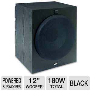 Sony SA-W3000 Powered Subwoofer