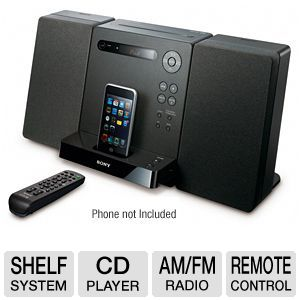 Sony CMTLX20i Micro Hi-Fi Shelf System 