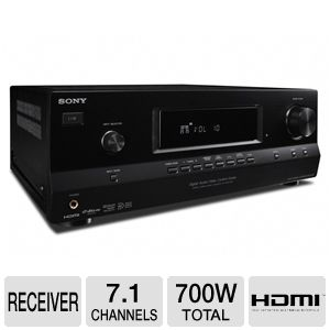 Sony STR-DH520 7.1 Channel A/V Receiver Bundle